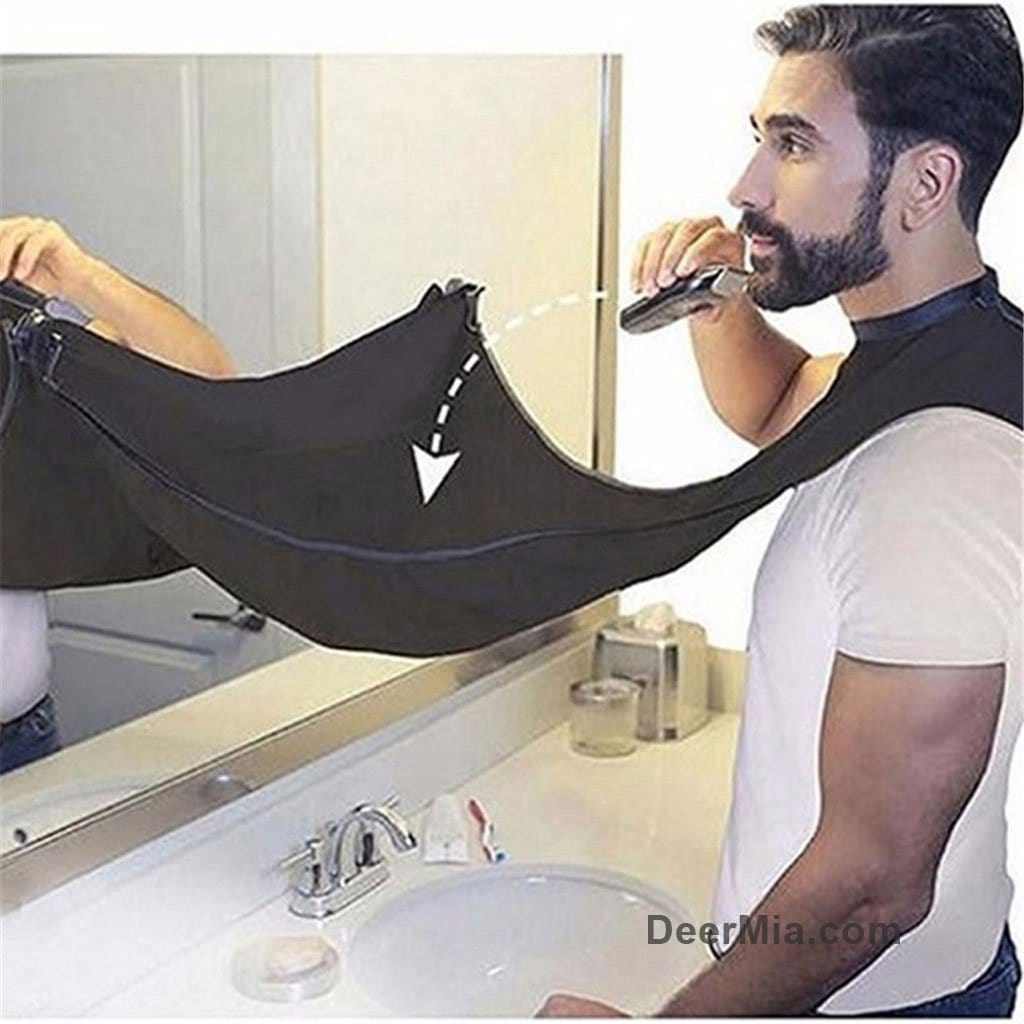 Convenient Beard/hair Storage Apron
