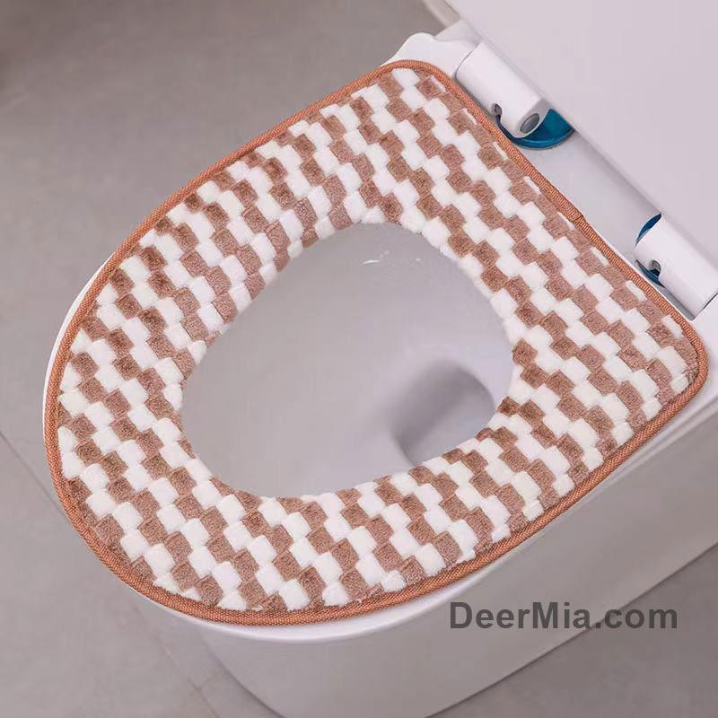 Cotton Comfortable Toilet Seat-Home Supplies