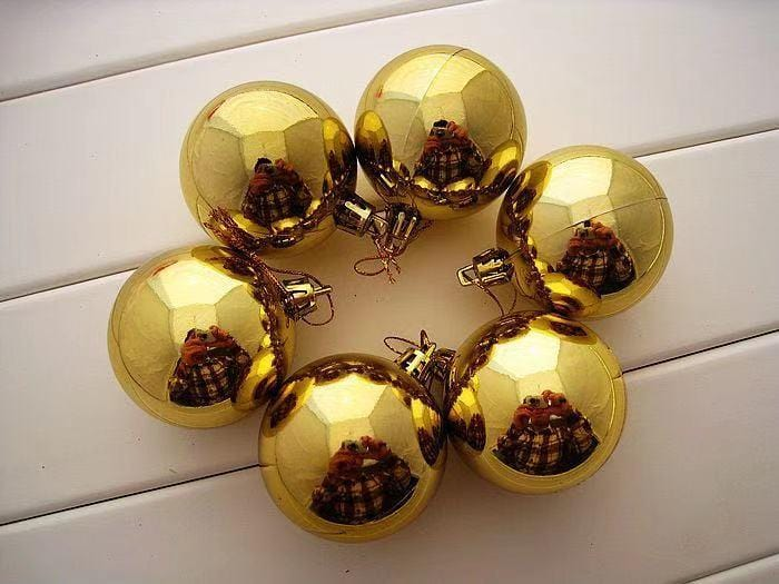 Christmas Dress Up-12-pack Christmas Tree Ball Pendant Decor