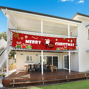 Christmas decoration banner