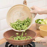 Kitchen multifunctional double drain basket-homeware