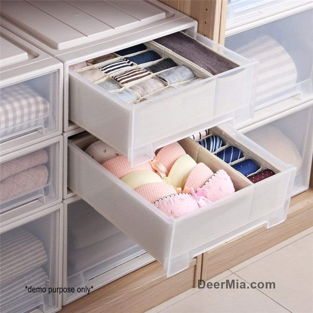 4 Pcs Practical Cloth Storage Box-Homeware