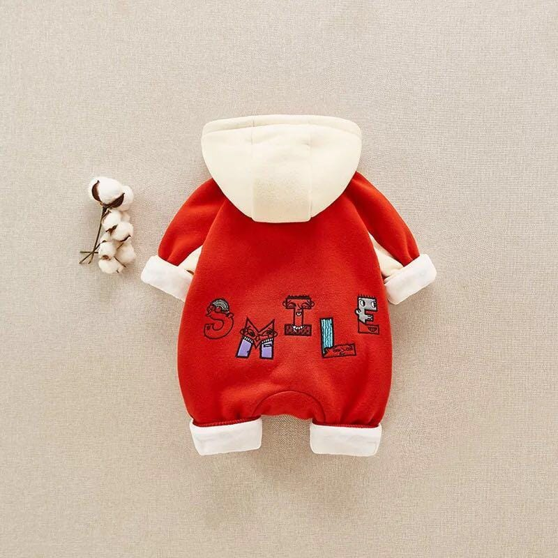 Fairy Baby Baby Boys' Long Sleeve One Piece Romper