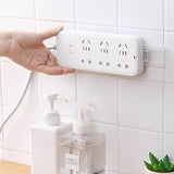 Strongly adhere to the wall patch cord hook-Home Supplies