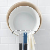 Household wall-mounted washbasin storage rack-homeware