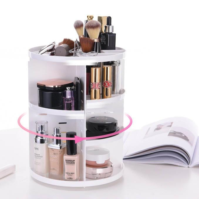 Rotatable Multi-layer Cosmetic Storage Box-Homeware