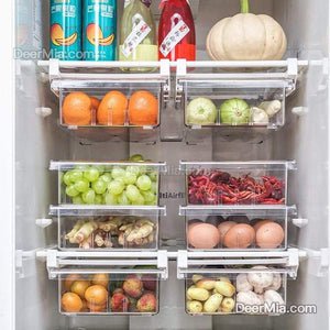 Refrigerator storage box(Can be pulled)