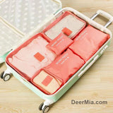 6 Pcs Waterproof Zipper Storage Bag-Homeware