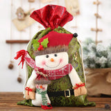 Christmas decorations - large gift candy bag
