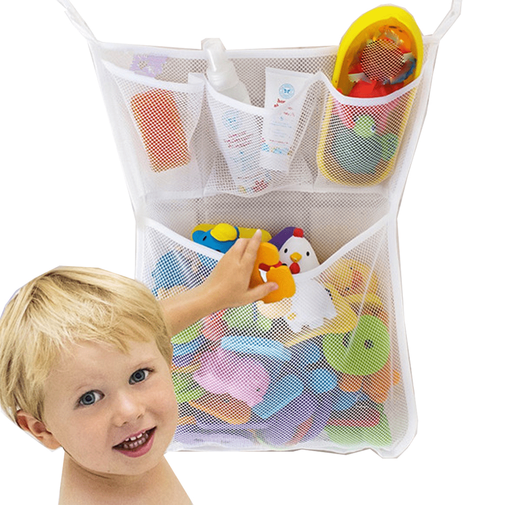 Hollow Out Hanging Toy Storage Bag-Homeware