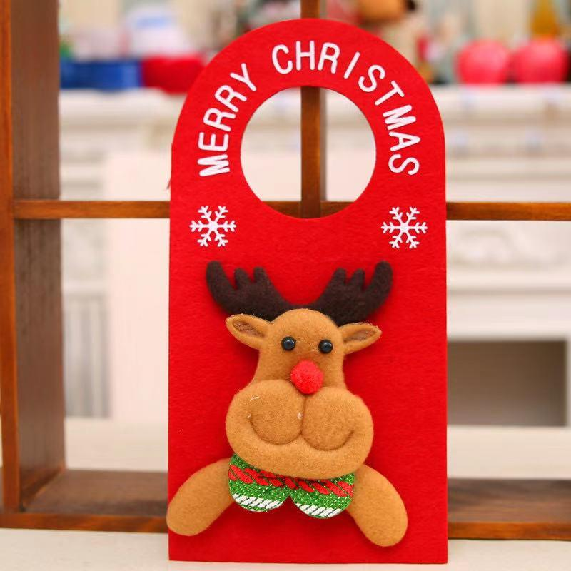 Merry Christmas Decoration - Cartoon Door Hanging