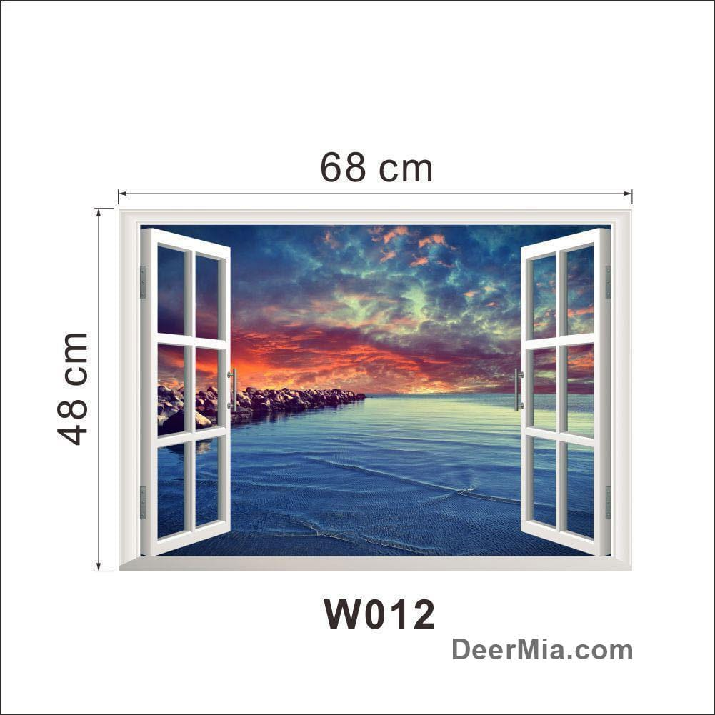 3D Sticky Wall Decor-Homeware