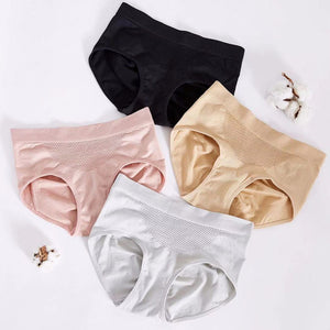 4 Pcs high waist panties for slimming belly control underwear