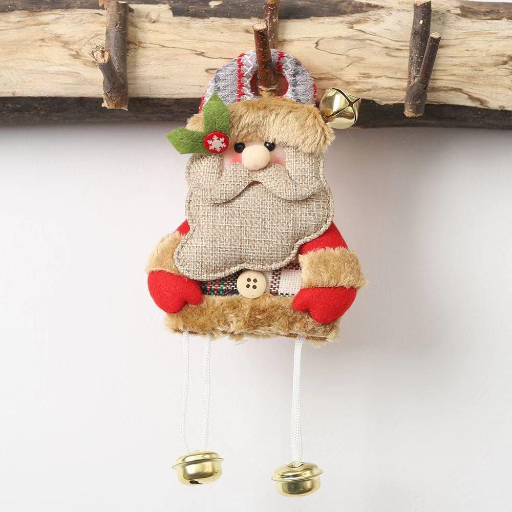 Merry Christmas Decoration - Christmas Tree Bell Pendant