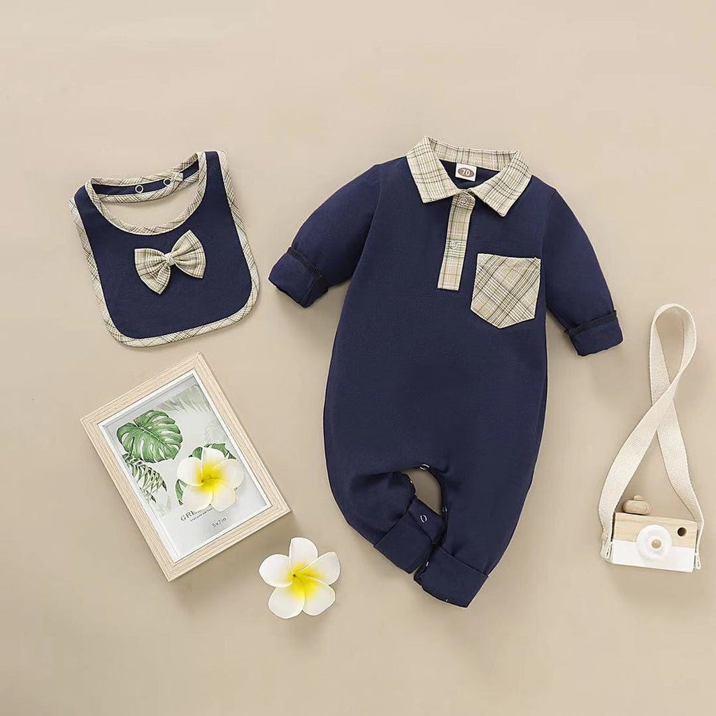 Baby Boy Long Sleeve One Piece