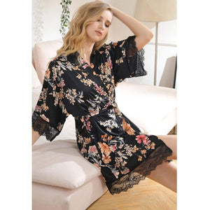 Silk shirt feminine Sleep Shirt