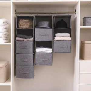 Multi-layer linen storage bag-homeware