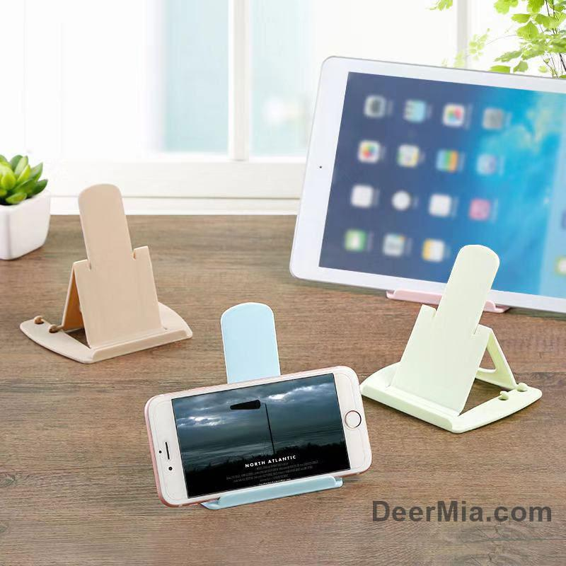 Portable foldable mobile phone stand