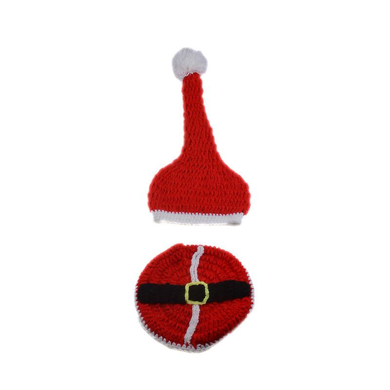 Christmas Photography Props Hat Set