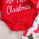 Christmas baby long sleeve suit