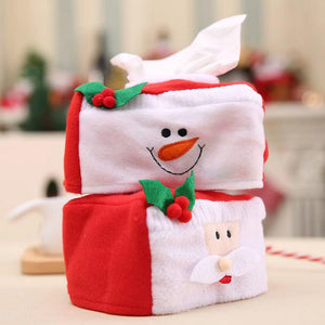 Merry Christmas Decorations - Christmas Tissue Box Set