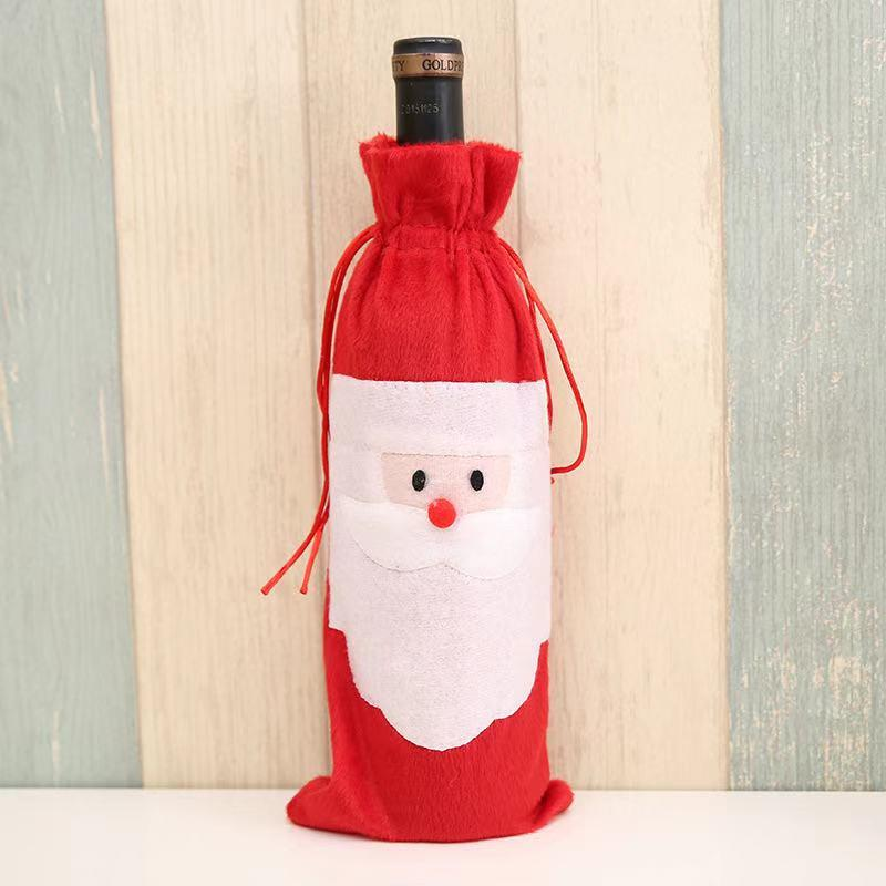 Christmas Dress Up - Christmas Gifts - Wine Bottle Set-3-piece set