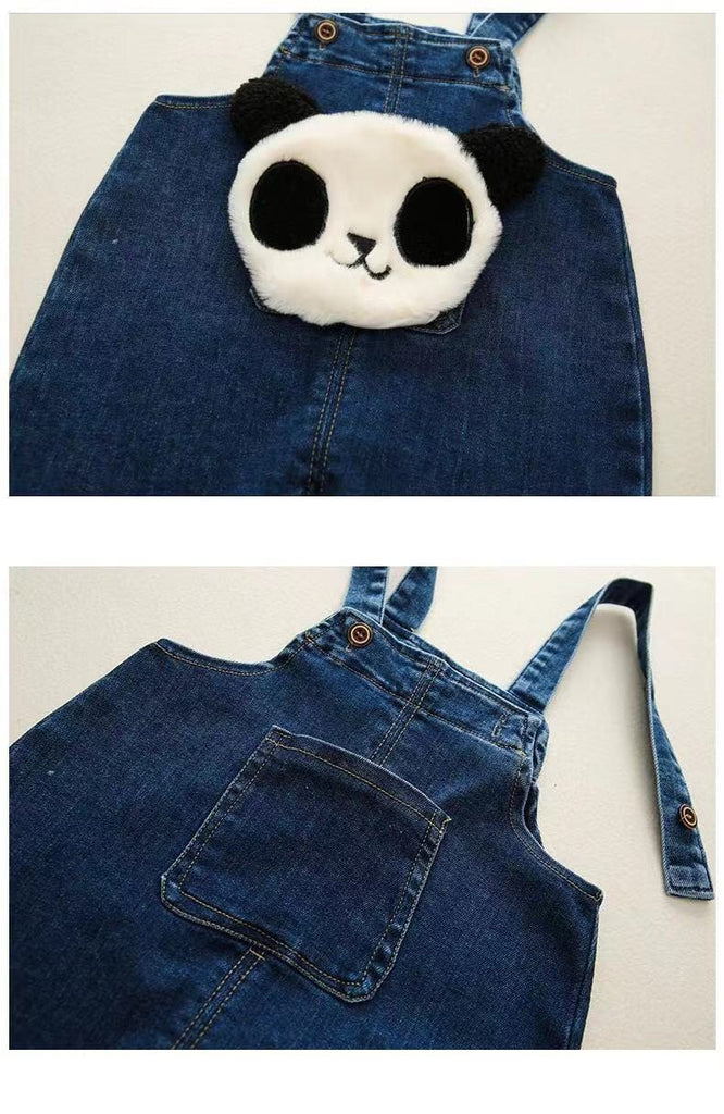 Baby panda jeans trousers