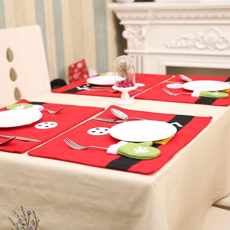Merry Christmas Decorations - Christmas Place Mats