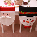Christmas decoration chair cover