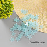 100-piece Fluorescent Star Wall Stickers-Homeware
