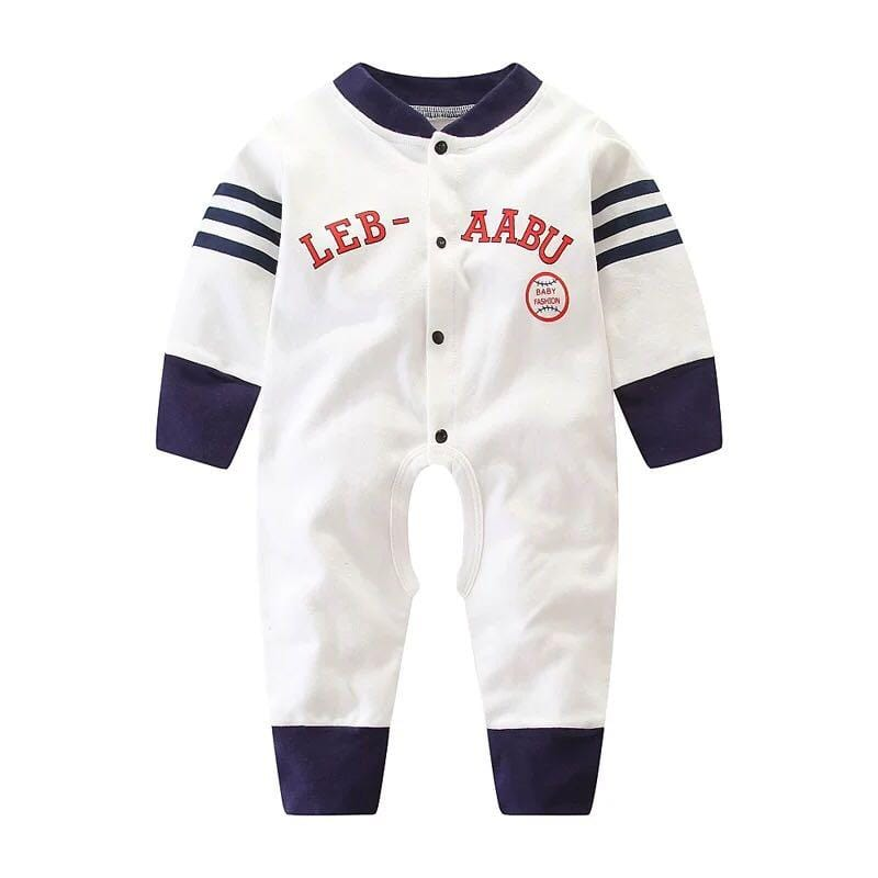 Baby Boy / Girl Long Sleeve Cotton Jumpsuit