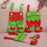 Merry Christmas Decoration - Fructose Bag Gift Storage