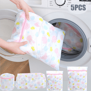 5Pcs Mesh Laundry Bags-Homeware