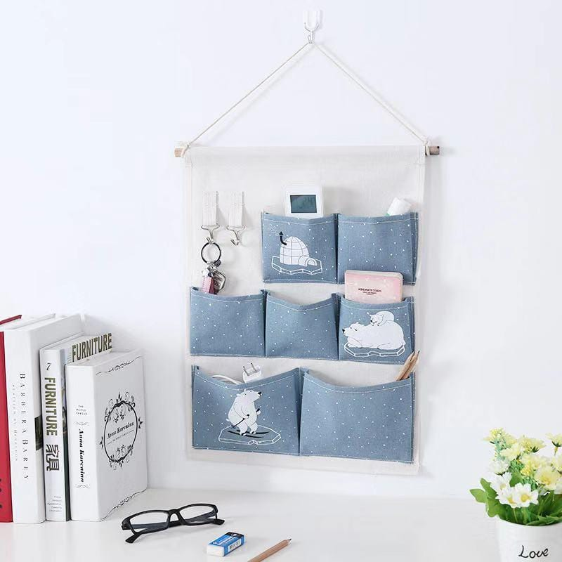 Multifunctional Wall Hanging Storage Bag-Homeware