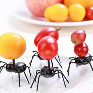12pcs Ant Shaped Dessert Toothpick-Homeware