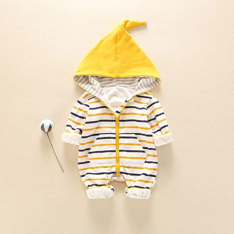 Baby Boy / Girl Striped Hoodie