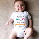 Baby color letter short sleeve tight jumpsuit