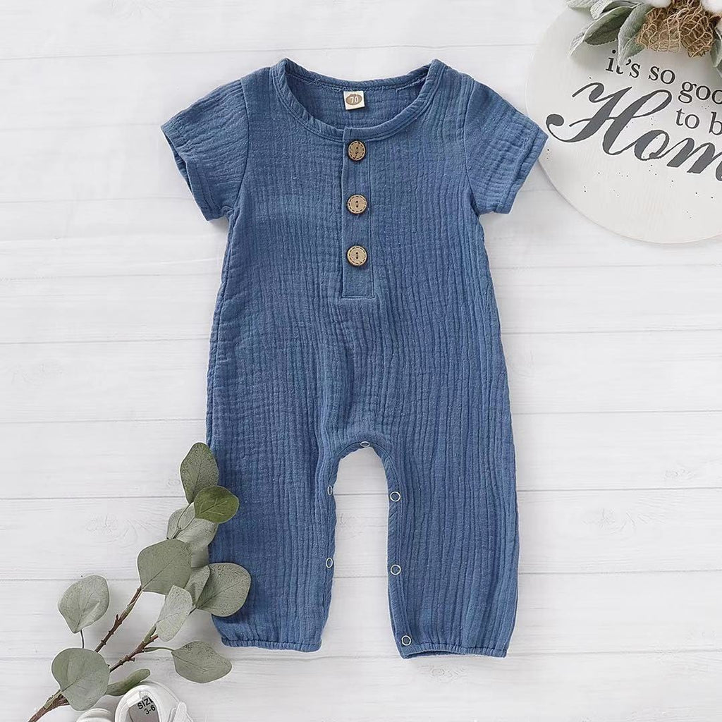 Baby / Toddler Boy / Girl Solid Short-sleeve Bodysuit