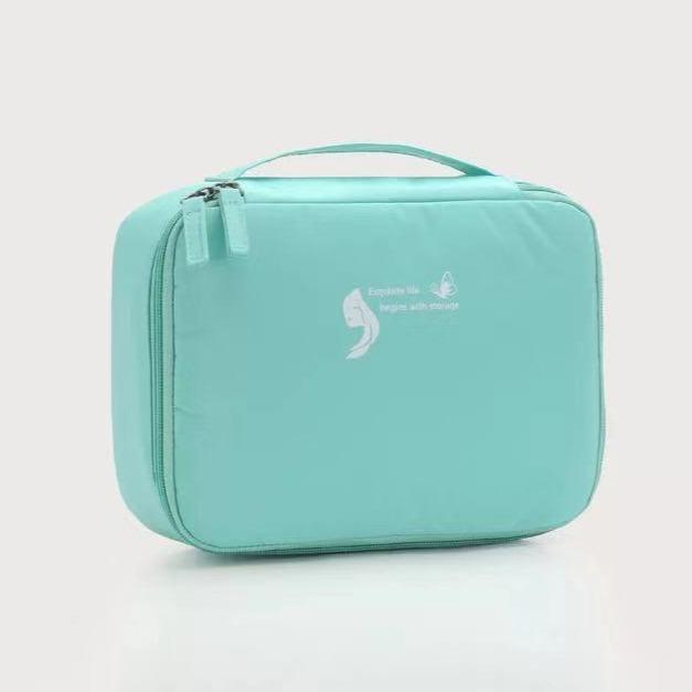 Cosmetic Waterproof Zipper Storage Bag-Houseware