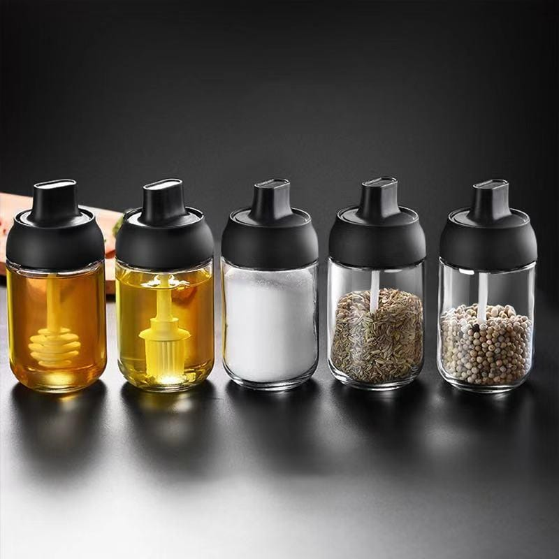 Multifunctional Hardcover Seasoning Bottle for Kitchen Utensil-Home Supplies