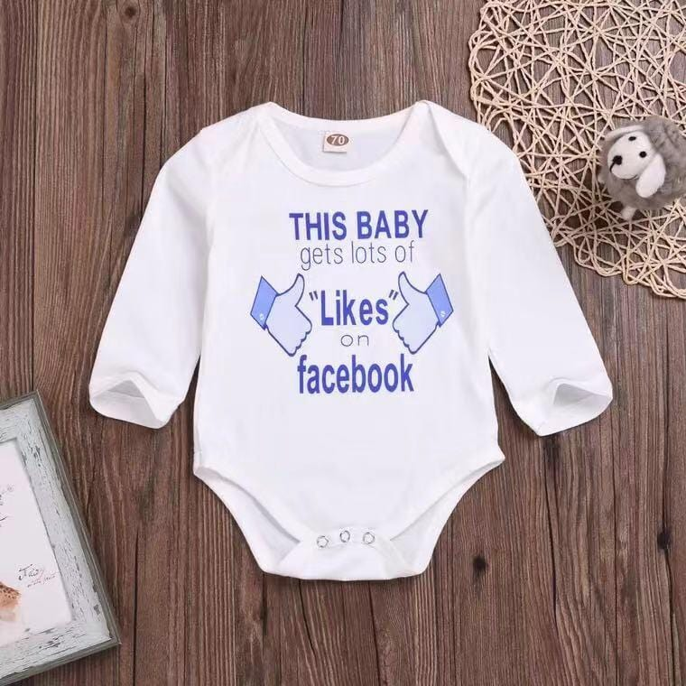 Baby long sleeve tight jumpsuit