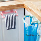 Kitchen Door Handle Trash Bag Holder-Home Supplies