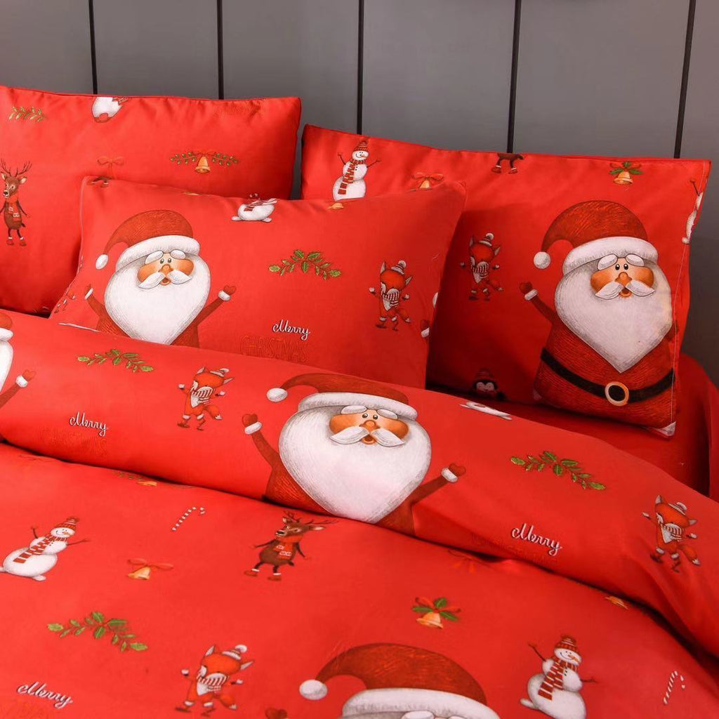 Christmas bedding - three-piece Christmas bed