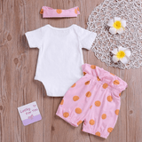 Baby Daddy's Little Princess Polka Dots Set