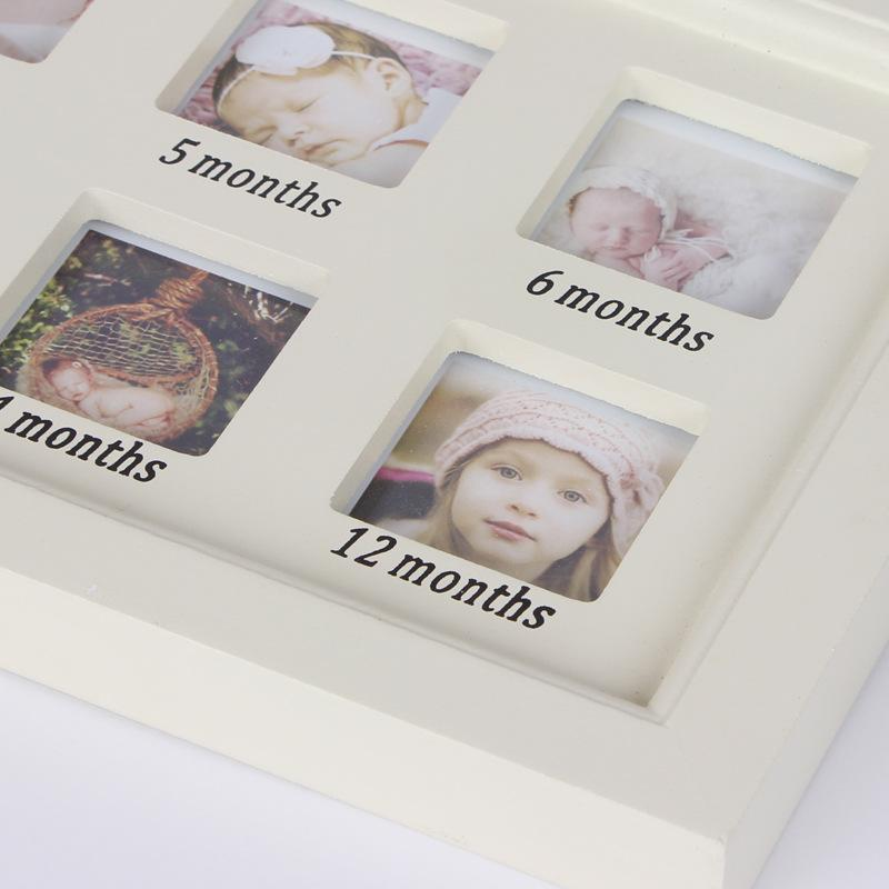 My First Year Baby 12 Month Photo Frame