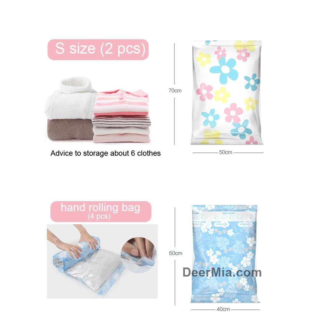 1pcs Vacuum compression bag with Hand Pump