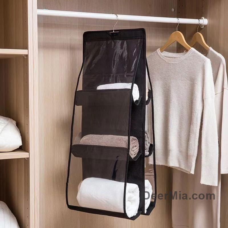 Multi-layer storage bag. Bag storage bag