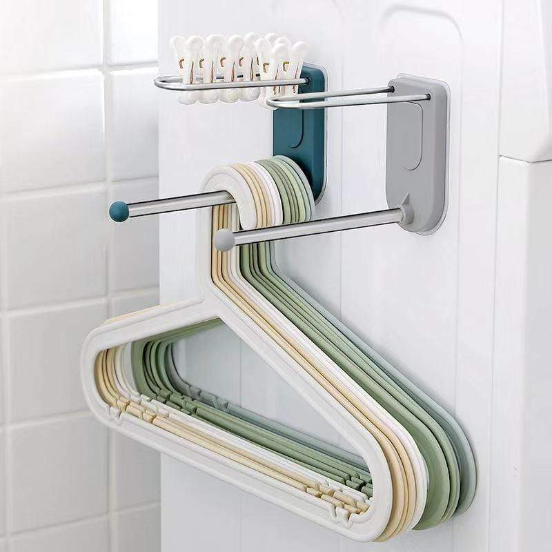 Wall-mounted hanger storage artifact-Homeware
