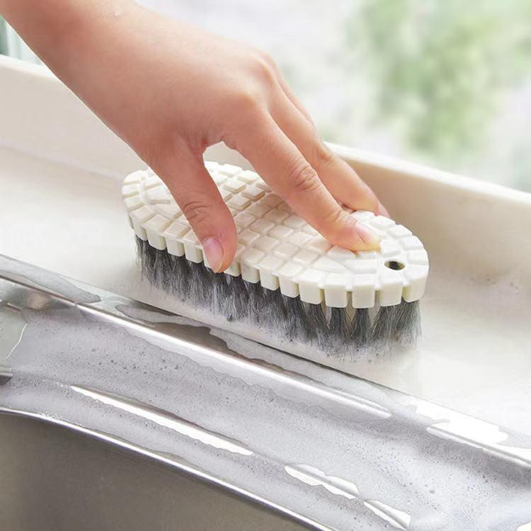Kitchen Curved Basin Cleaning Brush-Home Supplies