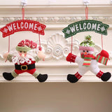 Christmas Decorations - Christmas Door Hanging-3-piece set